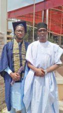 PHOTO: Ex-CPS to Kwara State Governor, Tajudeen Kareem, ex-NAWOJ President, Fatimah Kareem's son graduate in UNILORIN