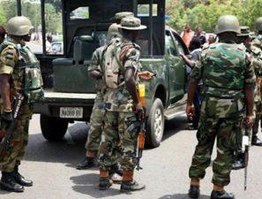 Nigerian Military arrest 40 suspects in Lagos, Ogun