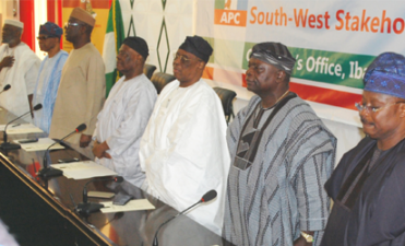 When jittery, divided S-West APC leaders gathered in Ibadan, Media Report reveals real truth of meeting
