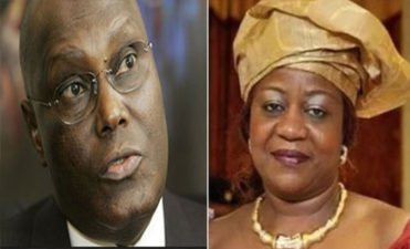 "Atiku only being a ""footballer on loan"", he has always returned home, Buhari's aide Lauretta Onochie attacks ex-VP"