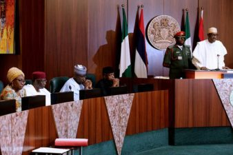 SPEECH BY HIS EXCELLENCY MUHAMMADU BUHARI ON THE OCCASION OF THE LAUNCH OF THE 2018 ARMED FORCES REMEMBRANCE DAY EMBLEM AND APPEAL FUND, ON WEDNESDAY, 1st NOVEMBER 2017