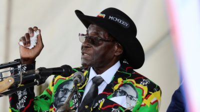 Mugabe gets immunity as resignation deal
