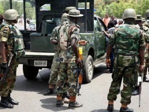 Army hands over 14 arrested electoral offenders to police in Rivers