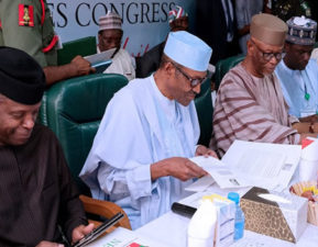 FULL TEXT OF REMARKS BY PRESIDENT MUHAMMADU BUHARI, AT THE MEETING OF THE NATIONAL EXECUTIVE COMMITTEE (APC) OF ALL PROGRESSIVES CONGRESS (APC), ON TUESDAY 31ST OCTOBER 2017, AT THE PARTY'S NATIONAL SECRETARIAT, ABUJA