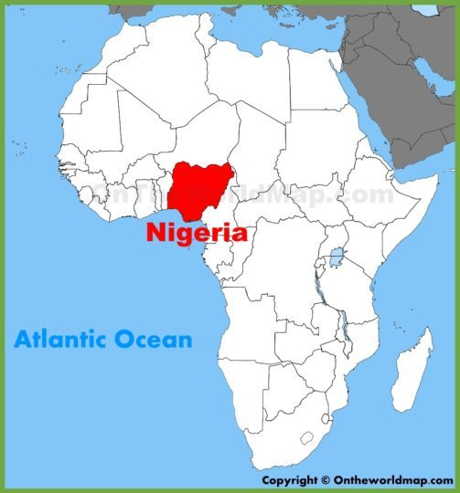 Nok Africa Map
