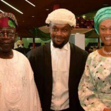 Buhari condoles Asiwaju Tinubu, as ex-Lagos Governor loses first son