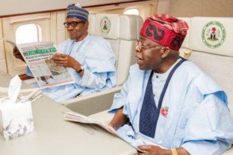 Buhari takes along with him Bola Tinubu, PDP, APC governors to attend EU/AU Summit in Abidjan