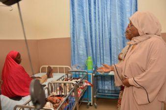 Mrs Buhari urges stakeholders to address health challenges facing Nigerian women