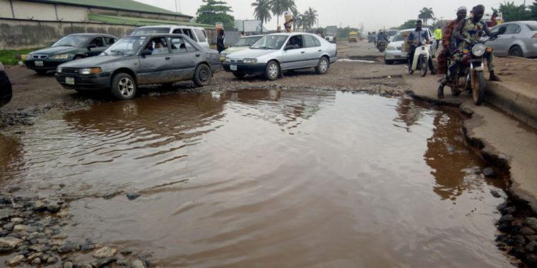 Commuters lament deplorable state of Sango/Abeokuta Road