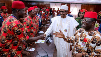 Igbo group salutes Buhari at 75, endorses him for second term