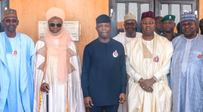 Our people want us to lead them to prosperity, not to chaos, Osinbajo warns warring Adamawa communities