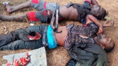 2 suspected armed robbers shot dead attacking Dangote company – Ogun Police