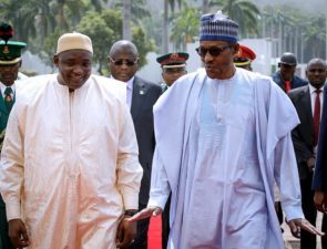 Why we insisted on respect for Constitutional Change in The Gambia, President Buhari tells visiting Adama Barrow