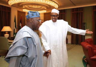 Don't attack Obasanjo over his letter bomb, Buhari warns aides
