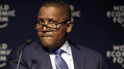 Dangote richest in Africa for 7th year – Forbes