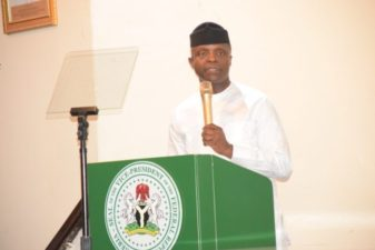 Osinbajo says government's burden is to defend territorial integrity, rights