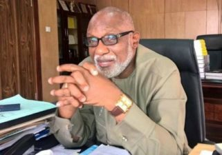Industrialising Ondo State a priority for me, Akeredolu reiterates commitment