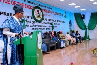 Buhari reiterates will to arrest vicious cycle of violence in Nigeria