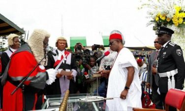ANAMBRA: Beginning of new era, as Obiano takes oath of office for second term