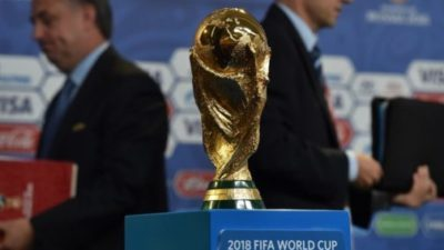 FIFA world cup arrives Nigeria Wednesday