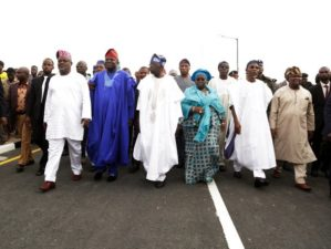 Ambode commissions 21 Lagos-Ogun boundary road projects