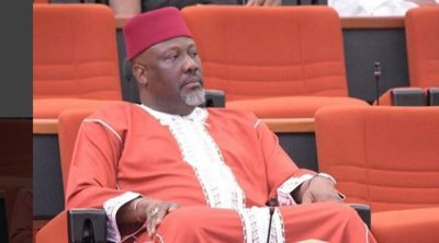 Dino Melaye escapes recall as INEC says only 18,742 signatories verified