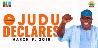 Ekiti 2018: Ojudu joins race