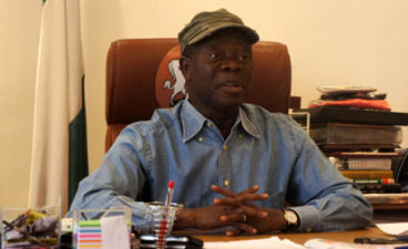 Don't bother about alleged PDP looters' threat of court actions, go after them, Oshiomhole emboldens FG