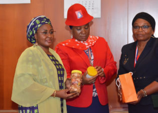Play your part in controlling drug abuse, Aisha Buhari charges pharmacists