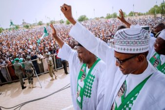 FG disbursed N1.5trn for capital projects in 2017, Buhari says in Jigawa as President says Nigeria's future is bright