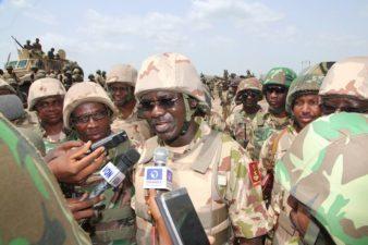 Security situation under control, Buratai assures Nigerians as Kaduna monarch lauds Army