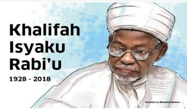 Keep your father's legacies alive, President Buhari advises Isyaku Rabiu's family
