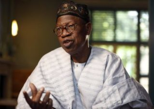 Nigeria's Minister of Information, Lai Mohammed, to speak at Chatham House Wednesday