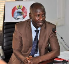 EFCC won't relent in anti-graft fight, Magu says, adds 2 ex-Governors sentenced APC members