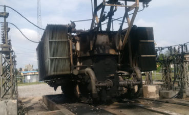 How $2m TCN's 28mw power transformer got burnt in Lagos