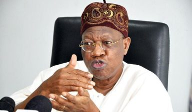 "Completing Lagos-Ibadan speed rail in December ""non-negotiable"" – Lai Mohammed"