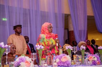 Advocate for peaceful coexistence, youths, Aisha Buhari urges mothers