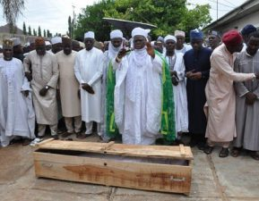 Gov Ahmed, JAMB Registrar Oloyede, Bolaji Abdullahi, Ayo Salami, others pay Akanbi last respect, as ex-Appeal Court President laid to rest