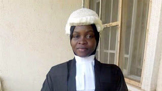 At Last! Nigerian Law School accepts to call Amasa Firdaus to Bar with hijab