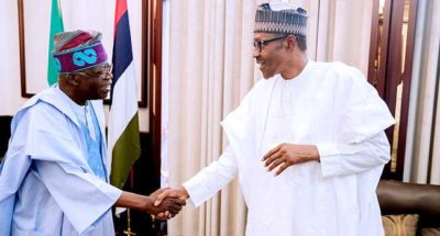 Buhari deserves a second term, Tinubu says as Abiola's daughter tells PMB has started final battle to rescue Nigeria