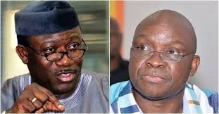 Fayemi kicks as Ekiti PDP attributes state's financial crisis to him