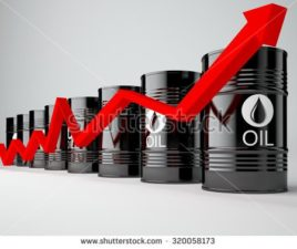 Oil prices rise as OPEC cuts supply