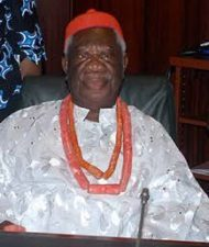 President Buhari salutes Prof. Chukwuka Okonjo at 90