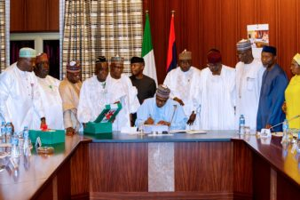 Did Buhari sign a padded 2018 budget?
