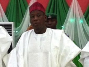 Ganduje submits nomination form, expresses confidence on APC's victory