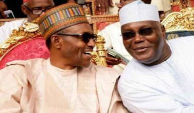 #NigeriaDecides: Buhari, Atiku in tight race as President leads 4 of 5 states, FCT