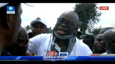 #EkitiDrama: Fathomed attacks won't make Fayose escape justice after office if…, Canada-based Group