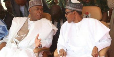 We did our best to stop their defection but wish them the best, Buhari says about NASS defections as others wonder while Saraki can't get his antics are known to all