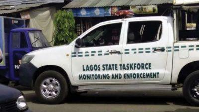 FG 72 Hour Order: Lagos Task Force frees service lane to ease traffic
