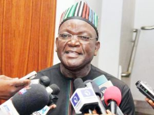 Governor Ortom threatens to slam N10b libel suit on Oshiomhole for telling why he failed to pay salaries